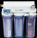 Spectrapure RO/DI CSPDI90 Unit 90 Gallons Per Day W/Manual Backflush, Dual TDS Meter, Auto Shut Off Valve, Float Valve & Pressure Gauge