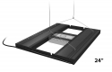 Hybrid T5 Light Fixture with LED Mounting System - Aquatic Life