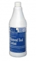 Diamond tool coolant for use with all diamond glass drill bits