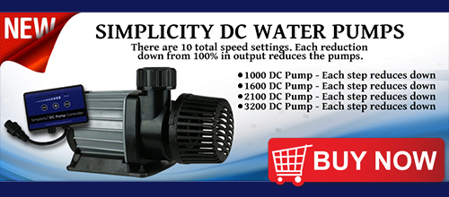 Simplicity DC Water Pumps